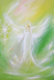 greeny-watercoloury-angel